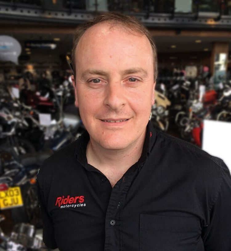 Stuart Chappell, Parts Manager